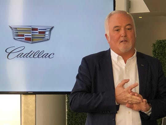 Cadillac President Steve Carlisle outlines GM's plans for the luxury brand to be mostly, if not entirely, electric vehicles by 2030.