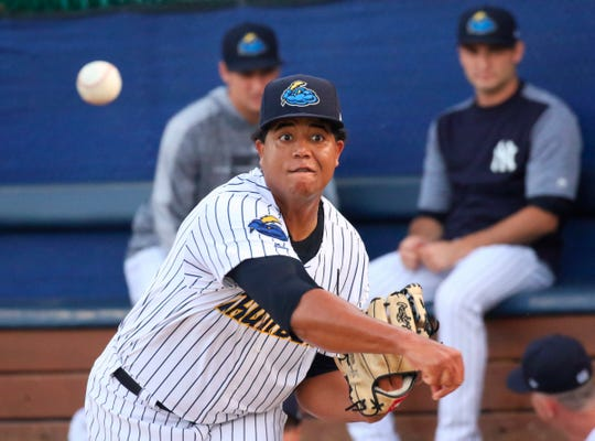 The Tigers selected pitcher Rony Garcia with the first pick in Thursday's Rule 5 draft.