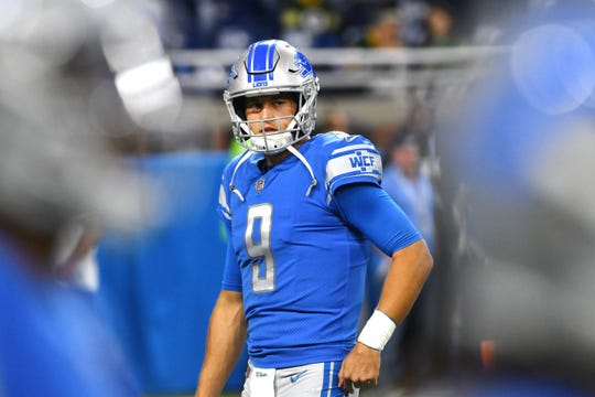 Despite his back injuries the past two seasons, LIons quarterback Matthew Stafford remains the franchise's most important piece.