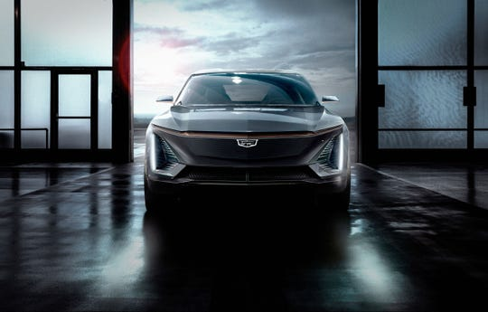 In January, GM previewed a yet-unnamed Cadillac crossover. It's expected to be in production by 2022. By 2030, GM expects almost all of Cadillac's vehicles will be battery-powered.