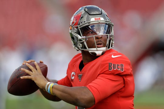 Tampa Bay Buccaneers quarterback Jameis Winston has thrown 26 touchdowns and 23 interceptions this season.