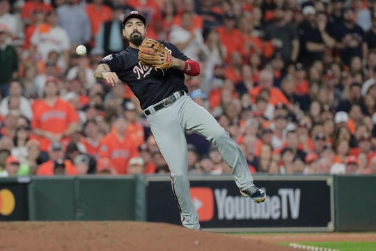 Third baseman Anthony Rendon and the Los Angeles Angels agreed to a $245 million, seven-year contract a person with direct knowledge of the deal told the Associated Press, Wednesday.