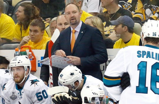 The San Jose Sharks have fired coach Peter DeBoer.