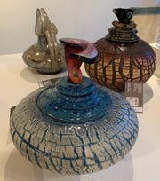 "Ceramicist Rod Lloyd of Commerce is one of the 200 artists whose work is featured at this year's ""Art for the Holidays"" show at the Detroit Artists Market. The show runs through Dec. 28."