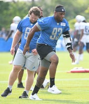 The Lions placed Da'Shawn Hand on injured reserve on Thursday.