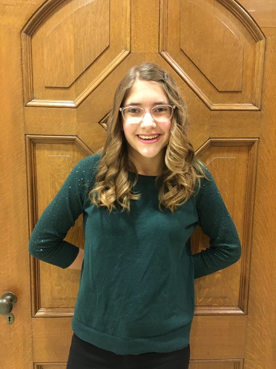 Annabelle Seel, a sixth grader at St. Mary's Springs Academy, started the first chapter of Curvy Girls in the state. Curvy Girls is a network of peer run Scoliosis support groups for girls ages 6 to 18.