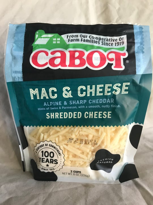 Cabot Creamery Co-Operative Mac & Cheese shredded cheese can't compete with boxed mac and cheese versions on price but it's nearly as easy to make and tastes, well, cheesier.