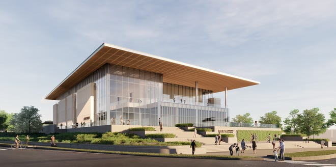 Construction on the Mulva Cultural Center is expected to wrap up by fall 2022.