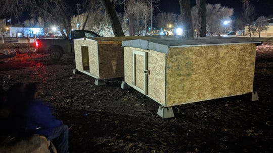 Wolf Point resident, Erik Johannessen, had the idea to build sleeping huts for people experiencing homelessness on the Fort Peck reservation.