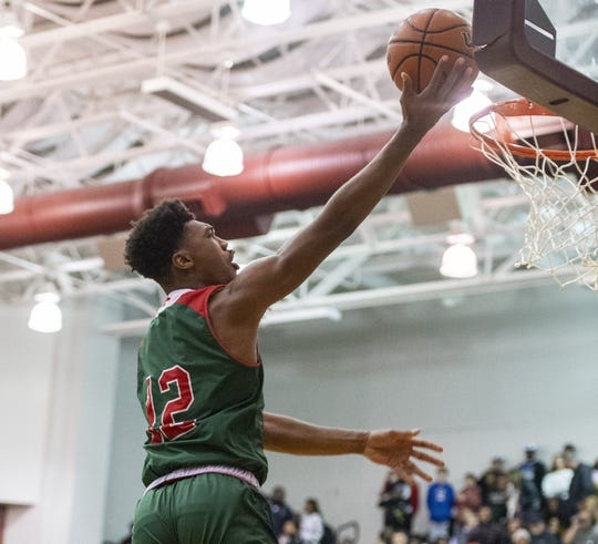 FILE – Tony Perkins led Lawrence North with 18 points in Friday night's win over Brownsburg.