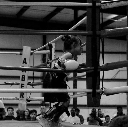 Linda Duarte boxed her coach for a belt in 2017.