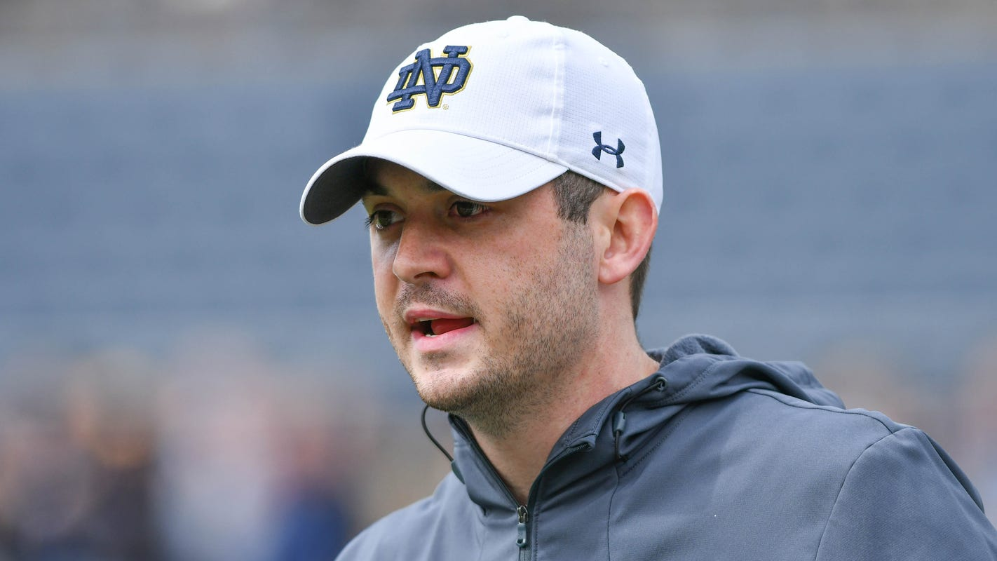 With Chip Long reportedly out at Notre Dame, Ian Book-Tom Rees collaboration set to grow