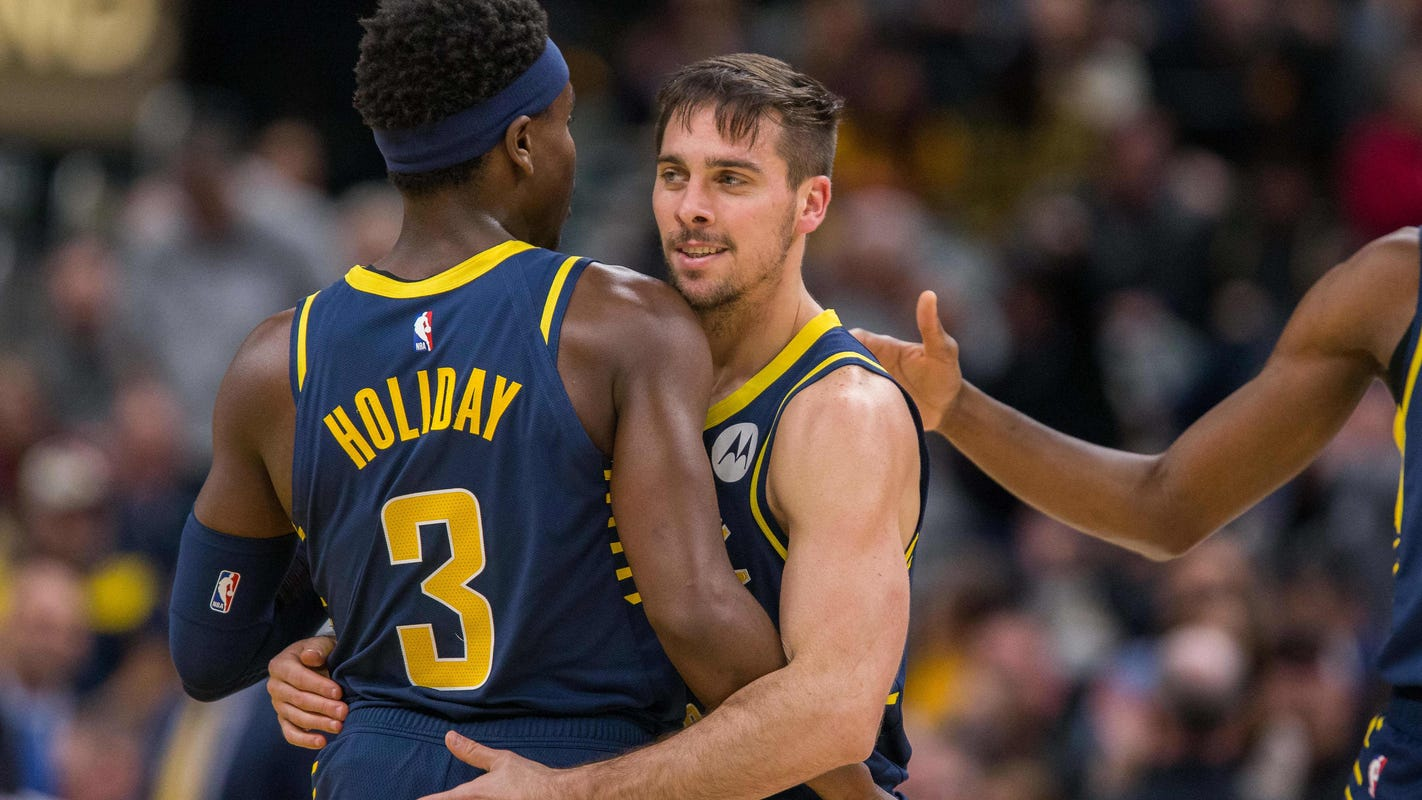 Insider: Pacers' unlikely backcourt combo of T.J. McConnell, Aaron Holiday sparks 2nd unit