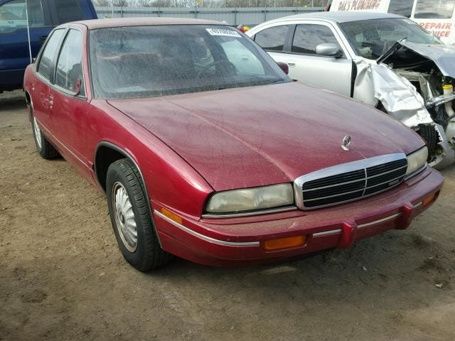 Mary Lou Philpot's car is a maroon 1994 Buick Regal similar to this vehicle. She was last seen driving it away from Brownsville Baptist Church on Wednesday night.