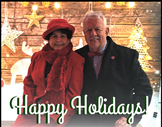 TC and Mayor Ron Williams send season's greetings to the community.