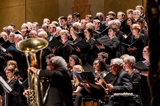 "Choral highlights will include the ""Hallelujah Chorus"" from Handel's ""Messiah."" Nov. 5, 2017."