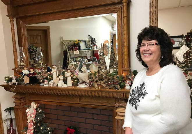 Glenna Ankrom opened G's Hidden Treasures at 1334 Sheridan Drive in March. The business sells a variety of items, including home decor, crafts, candles and coffee.