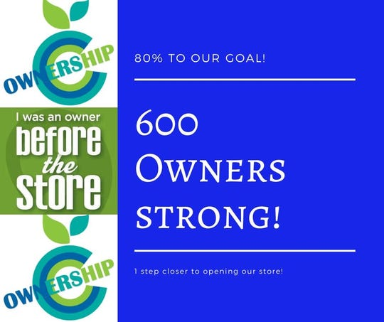 Clipper City Co-op now has 600 owners.