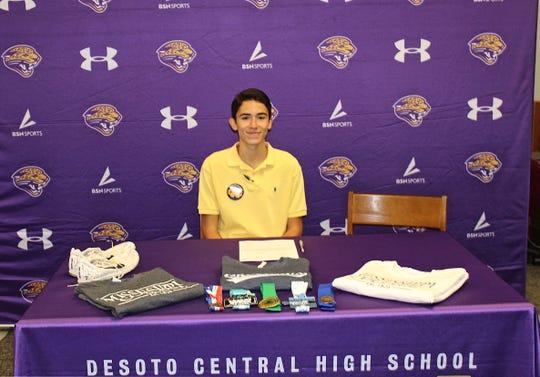 Adam Gomez is a senior at DeSoto Central High