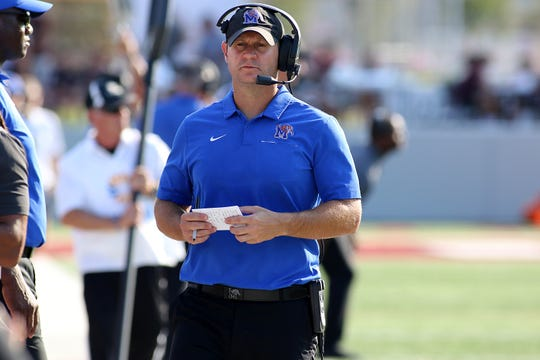 Ryan Silverfield was named the next Memphis football head coach after serving as offensive line coach since 2016. Silverfield was promoted to deputy head coach prior to this season.