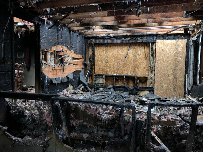 A house fire near W. Potter Road and W. Underwood Parkway was reported around 11 p.m. on Wednesday, Dec. 11. No one was injured.