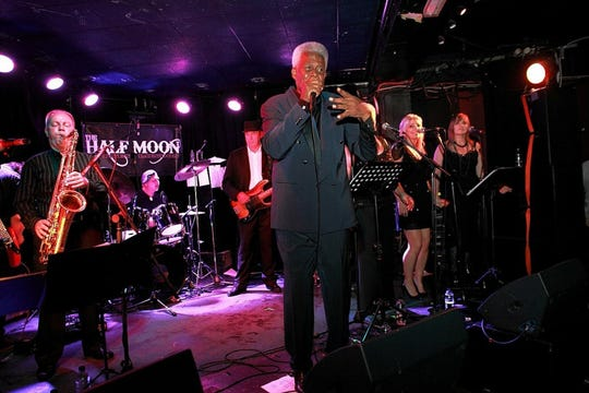 Montgomery native Eddie Floyd performs at the Half Moon in London.