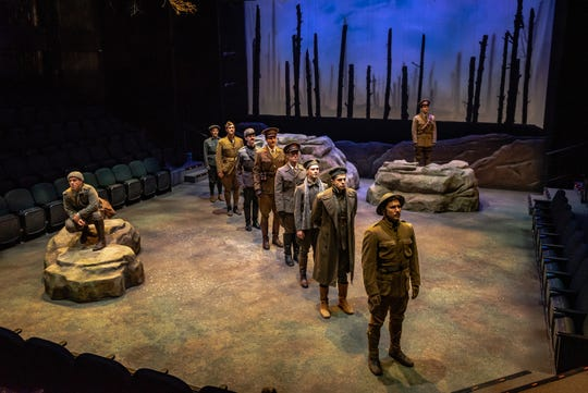 """All is Calm"" runs through Dec. 29 at Alabama Shakespeare Festival."
