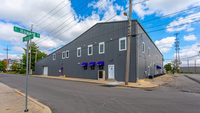 The exterior of a former warehouse at 424 S. Monroe St. is the new location of 424 Lofts, which just recently opened. The apartment complex is one of two that Barry Zachary has rehabbed from existing structures.