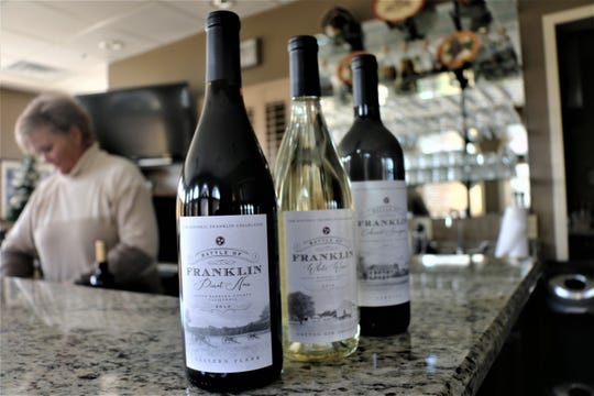 The Franklin Wine Collection landmark series has three bottles available for sale with a fourth coming out in 2020.