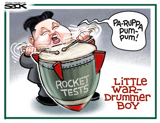 Kim's rocket site test.