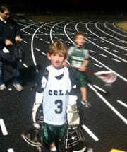 Trace Davidson, 7, playing in the Collier County Lacrosse Association in Naples.