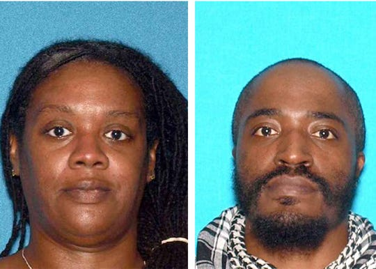 Suspects in the Jersey City shooting that killed four people Tuesday. Francine Graham (L) and David N. Anderson (R).