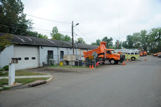 The Teaneck Department of Public Works facility on River Road.
