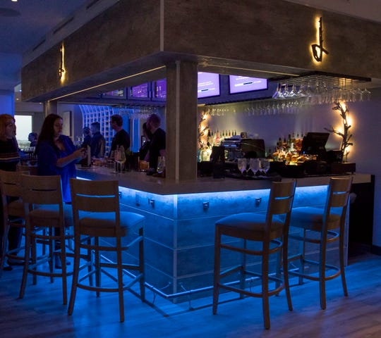 Inside bar at Drift restaurant in Pensacola Beach on Monday, Dec. 9, 2019.