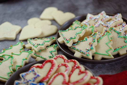 Holiday cookies at Robin Miller's home in Scottsdale, Ariz. on Dec. 9, 2019.