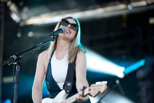 Liz Phair performs during the Innings Festival on Sunday, March 3, 2019, at Tempe Beach Park in Tempe, AZ.