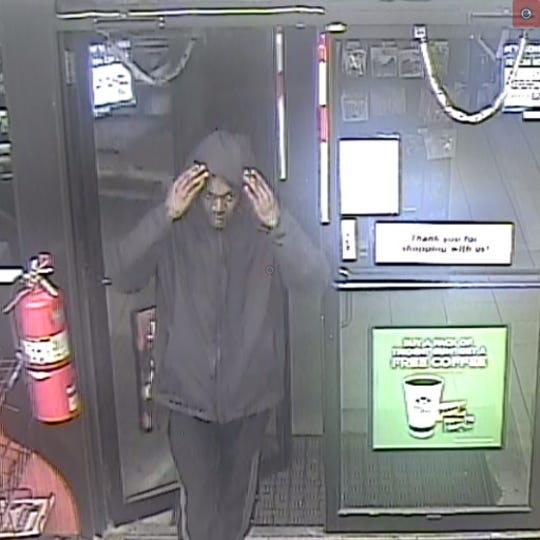 York City police are seeking to identify a man in connection to a robbery early Thursday morning.