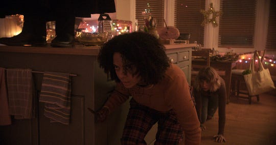 """Imogen Poots and Aleyse Shannon star in """"Black Christmas."""" The movie is playing at Regal West Manchester, Queensgate Movies 13 and R/C Hanover Movies 16."""