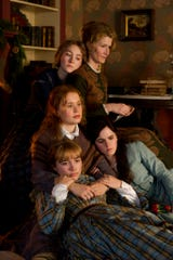 "Clockwise from top left, Saoirse Ronan, Laura Dern, Emma Watson, Florence Pugh and Eliza Scanlen star in Greta Gerwig's ""Little Women."" The movie goes into wide release on Dec. 25."