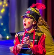 Ella Kilgore, as the Tin Soldier, wishes she had a heart.