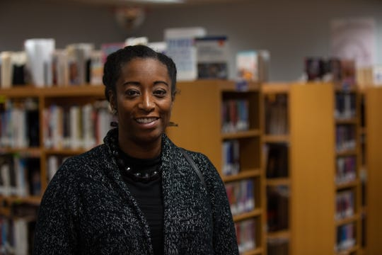 Shamika Fusco is the branch supervisor at the Lyell Branch Library in Rochester.