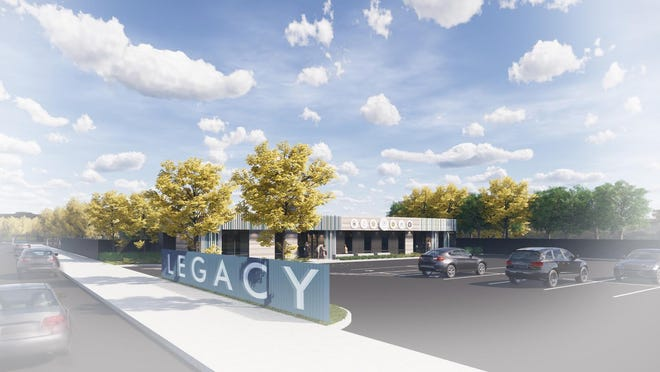 A rendering of the new Children's Legacy Center in downtown Redding on Shasta Street. The facility is expected to open in spring 2020.