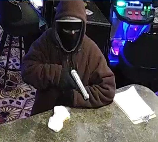 The suspect hit the Get-n-Go at 15th Street and Cliff Avenue around 8:30 p.m. Monday, the Get-n-Go at 57th Street and Marion Road around 1 a.m. on Wednesday and the Jokerz Casino near 31st Street and Minnesota Avenue around 10:45 p.m. on Wednesday