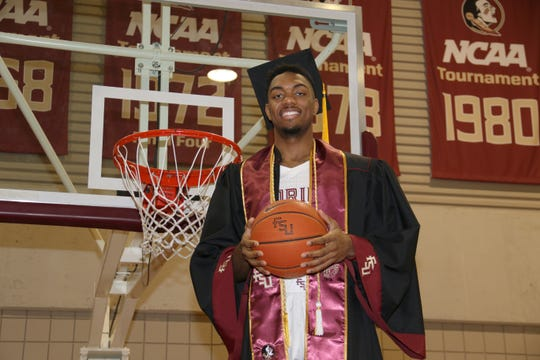 FSU point guard Trent Forrest is set to graduate in less than four years with a 3.46 GPA and a bachelor's in sports management Friday.