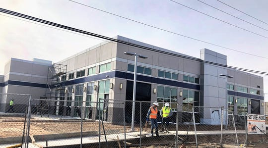 Fox Acura's new dealership facility is under construction at 7750 Gateway East Blvd., near McRae Boulevard, in East El Paso.