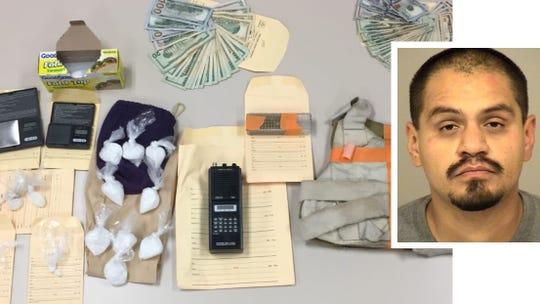 Oxnard suspect arrest in methamphetamine sales