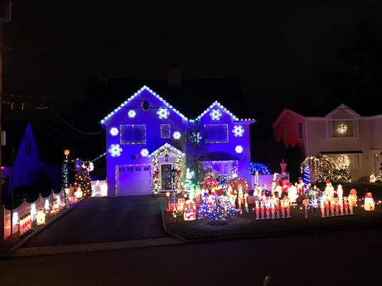 George Papademetriou's house at 7 Andrew Road, Eastchester is a holiday attraction.