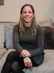 Jessica Berman, Deputy Commissioner & Executive Vice President, Business Affairs for the National Lacrosse League, was photographed in her Larchmont home on Thursday, December 12, 2019.