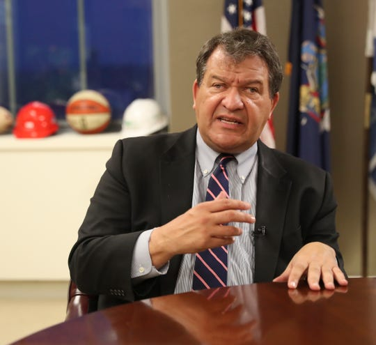 Westchester County Executive George Latimer gives a year end interview from his office White Plains on Tuesday, December 10, 2019.