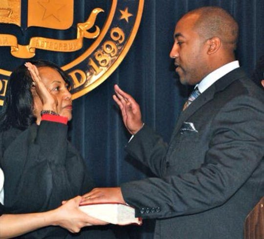 In 2011, Jared Rice was sworn in by his mother Judge Gail Rice. Starting in January, Jared Rice will take over the city judge seat held by his Gail Rice